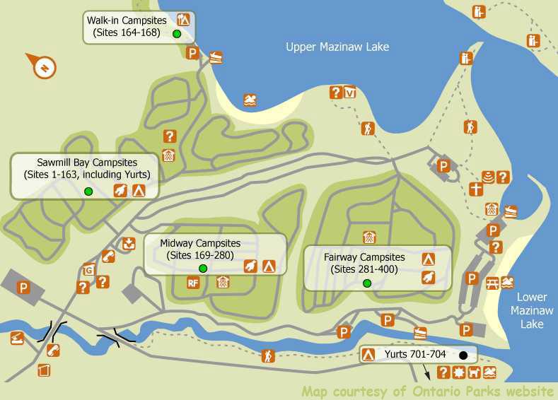 Bon Echo Provincial Park Map Bon Echo Provincial Park Map | compressportnederland Bon Echo Provincial Park Map